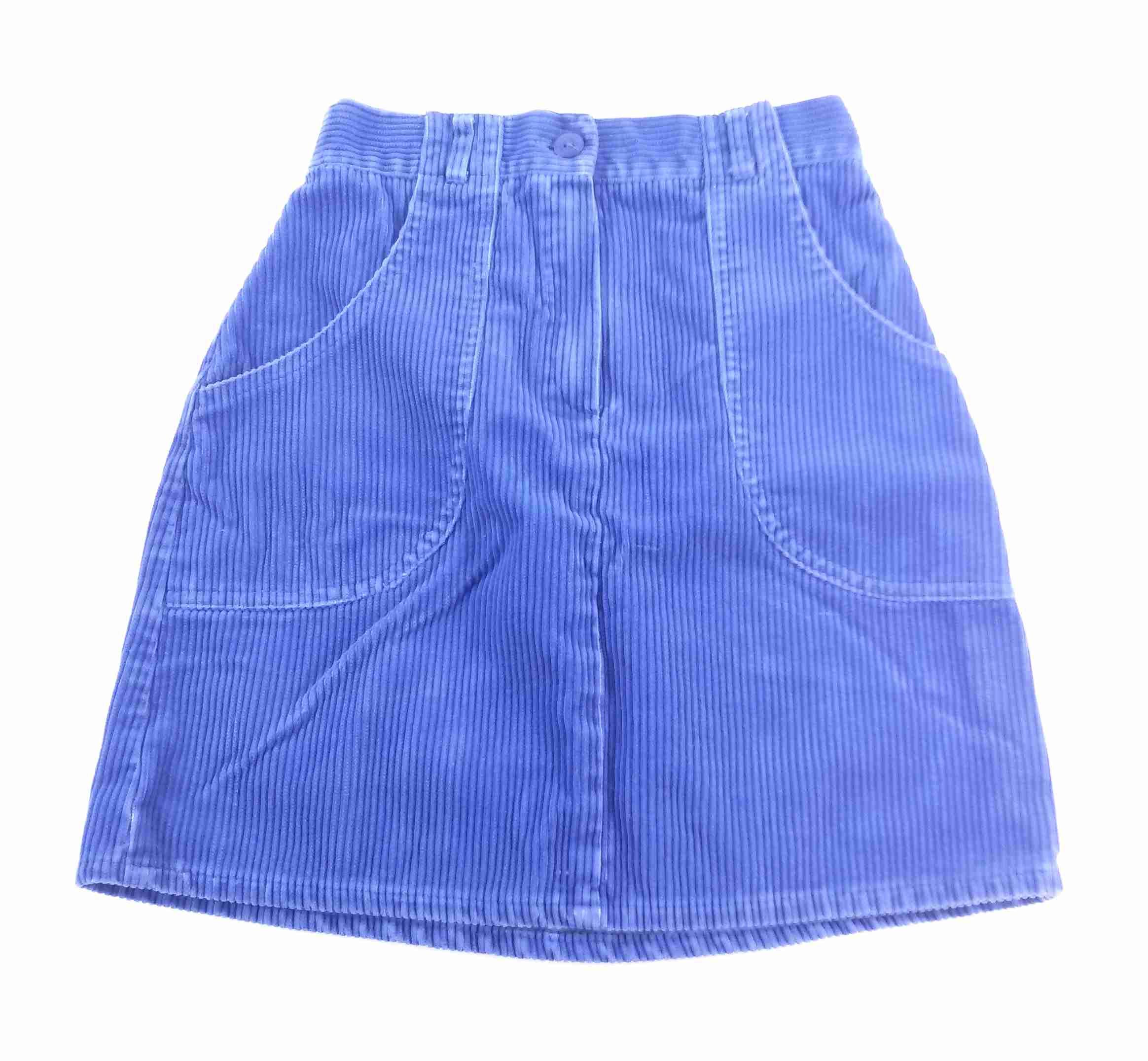 0b0b484873f sukně manžestrová modrá vel 128