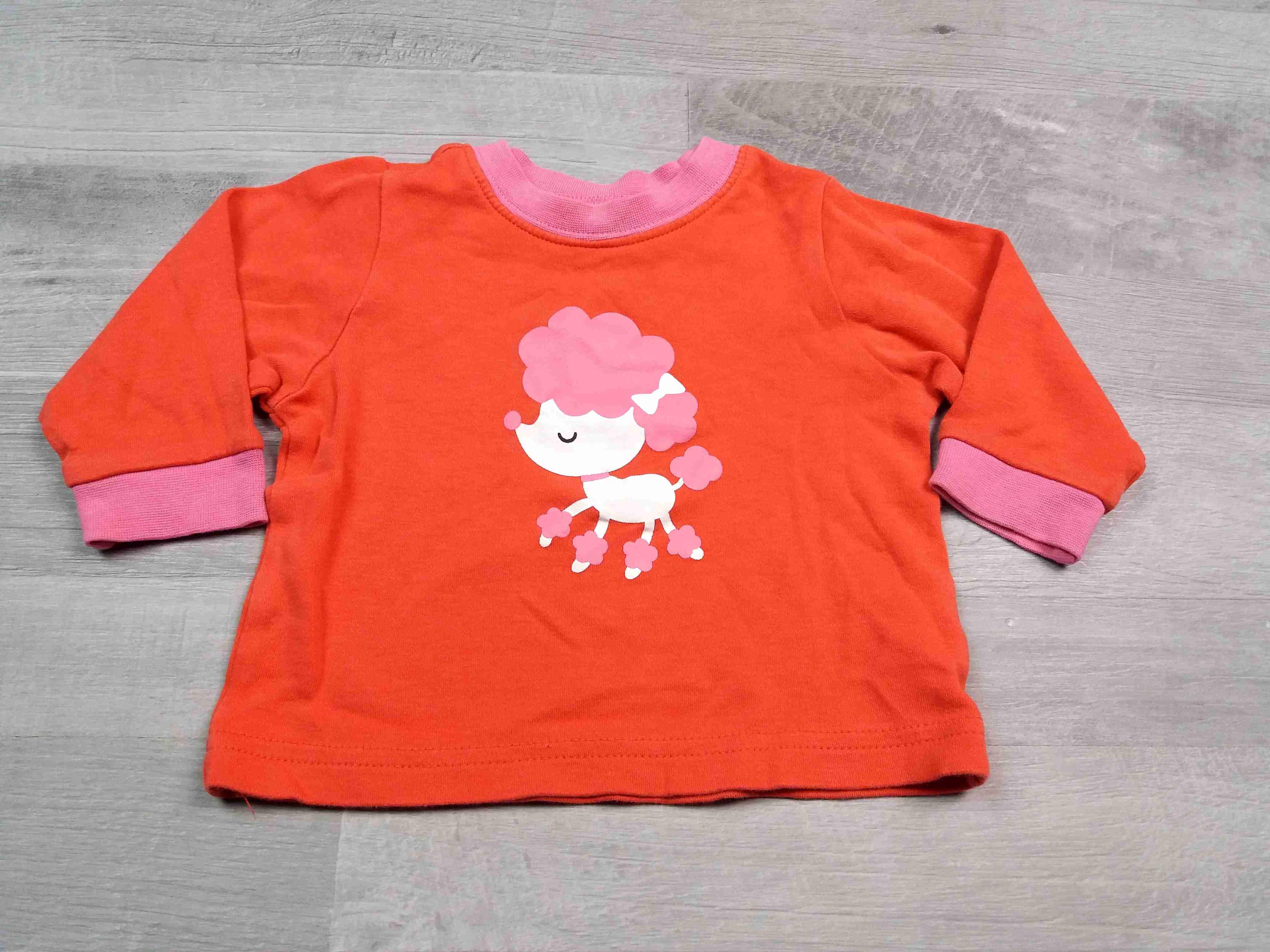 bc52fe795bc tričko dl.rukáv růžové s pejskem vel 68