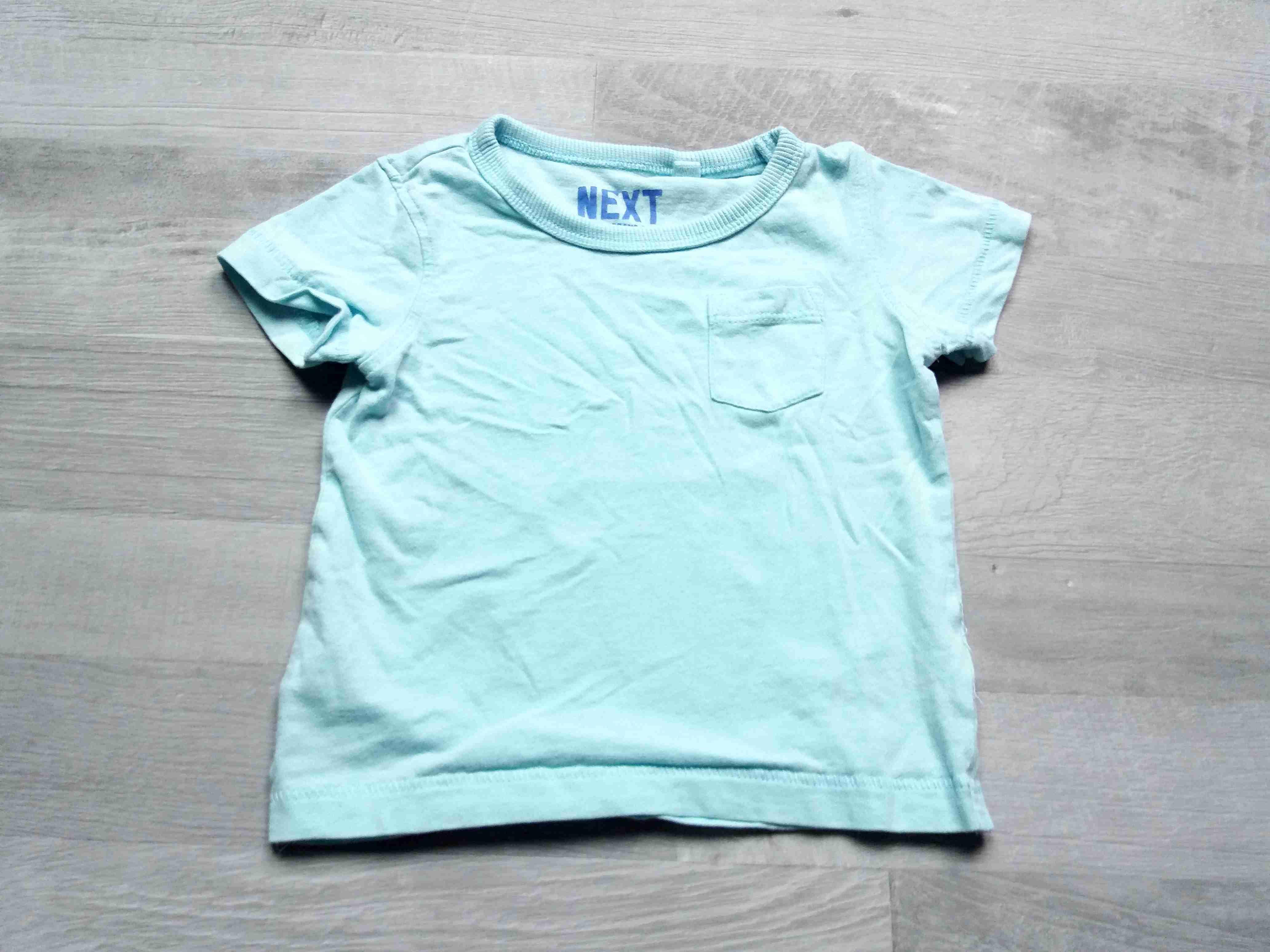 9cea76136473 tričko kr.rukáv modré s kapsičkou NEXT vel 68