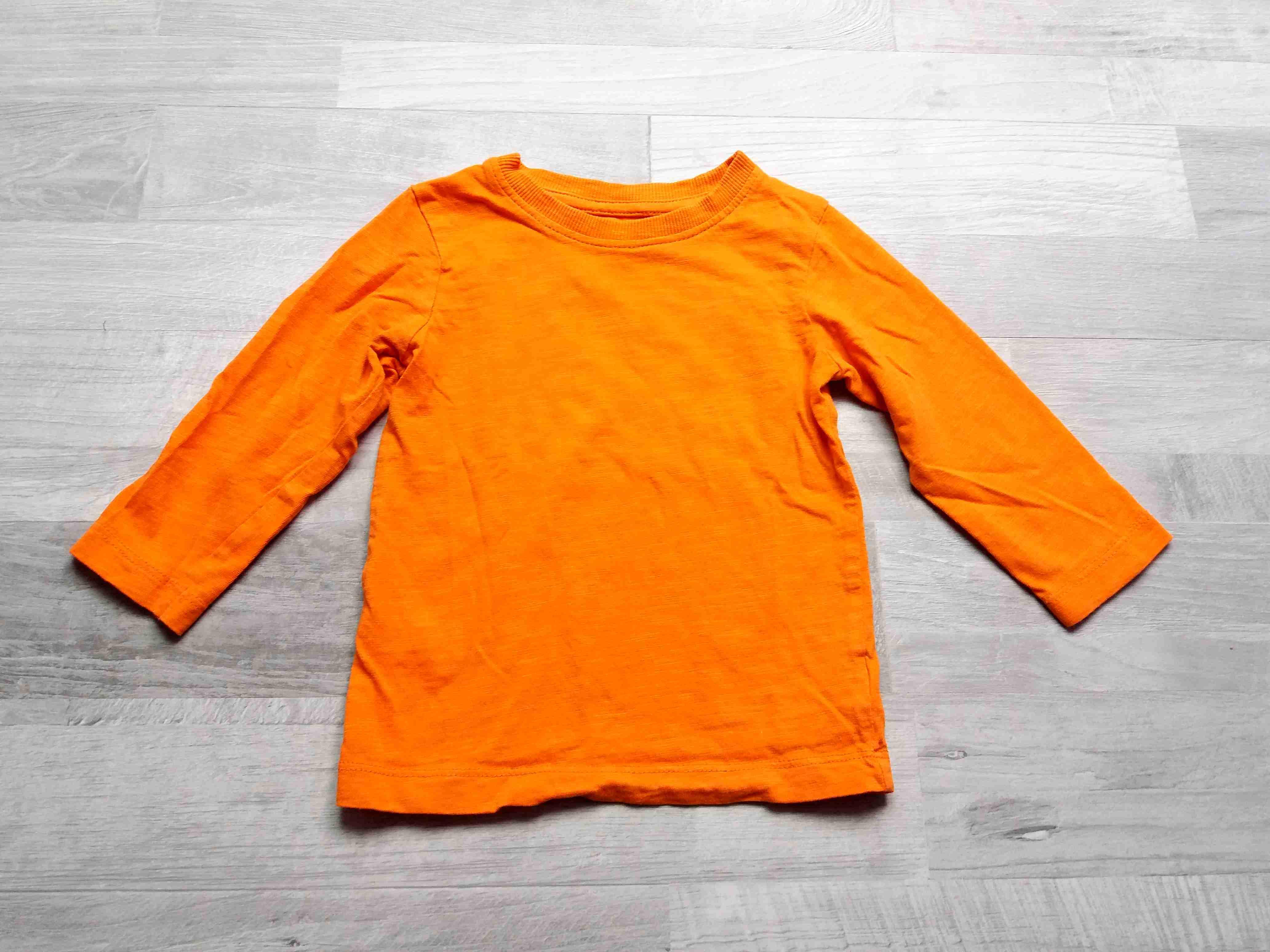 ccc21eefe81 tričko dl.rukáv oranžové NEXT vel 80