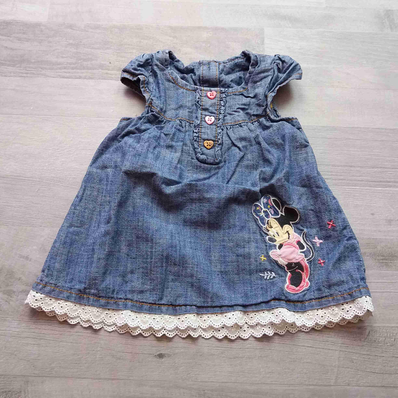 0471264f2fc šaty riflové modré s Minnie DISNEY vel 62