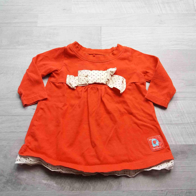c17494558a5 šaty červené s mašlí a slonem NEXT vel 68