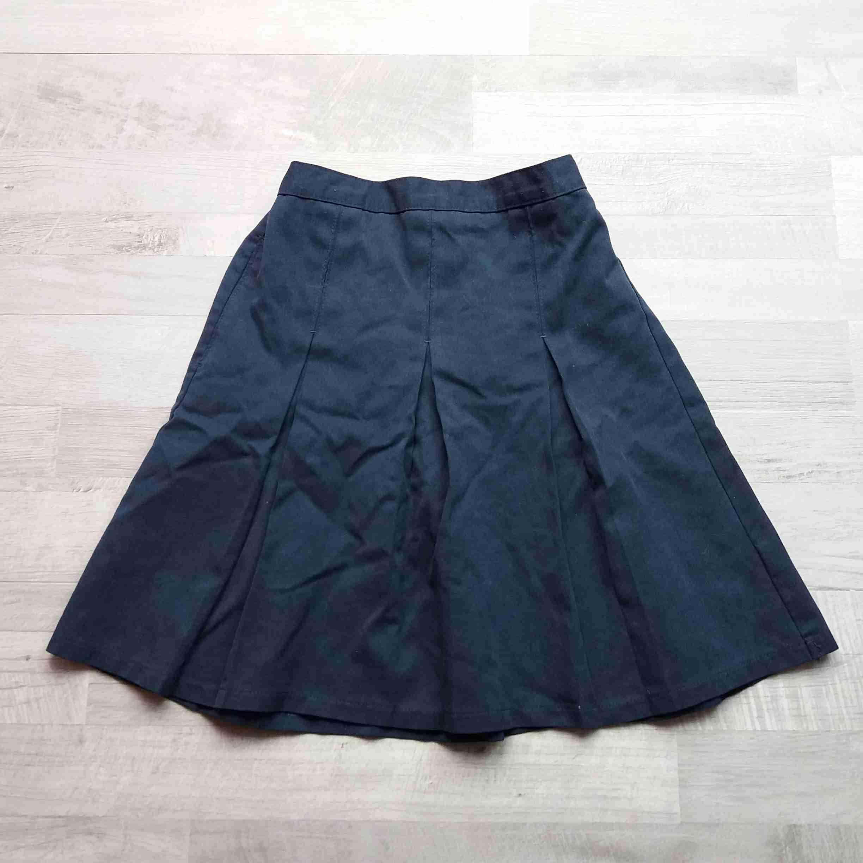 sukně tmavě modrá skládaná MARKS SPENCEr vel 146  ece564bf9e