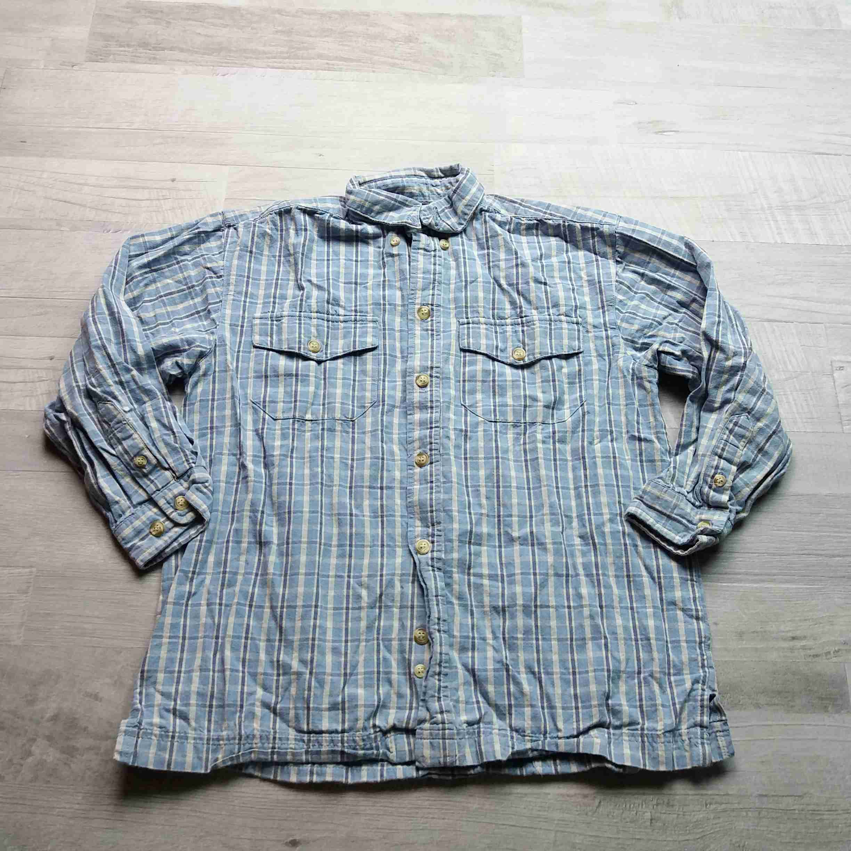 košile dl.rukáv kostkovaná modrá vel 128 09bdfd6b19