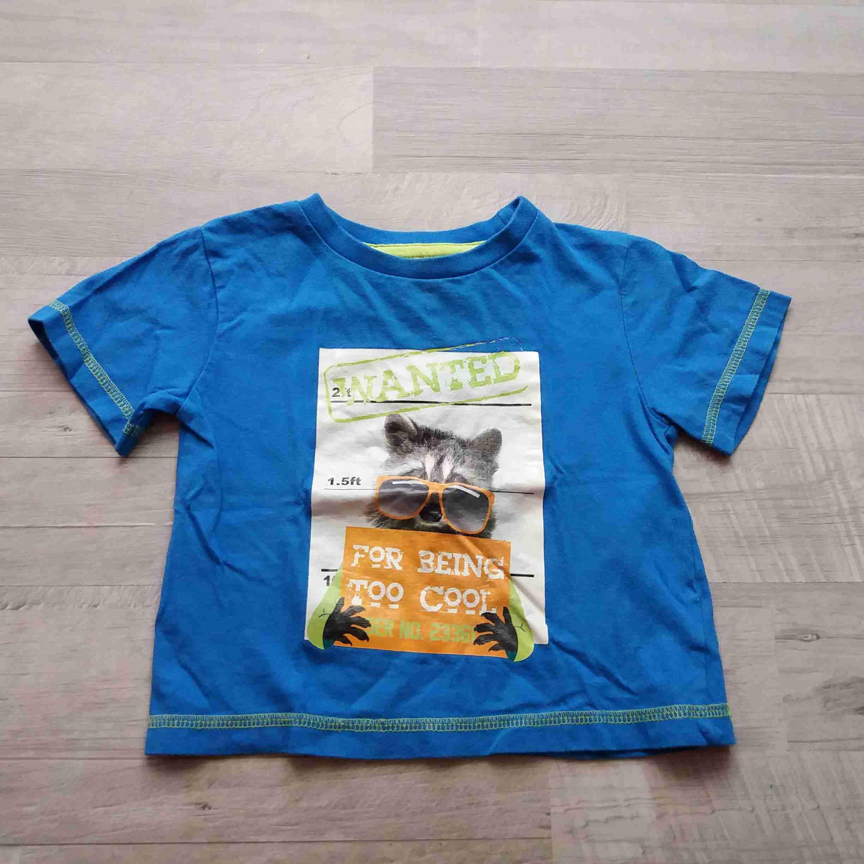b4db85ecff1b tričko kr.rukáv modré se zvířátkem vel 86