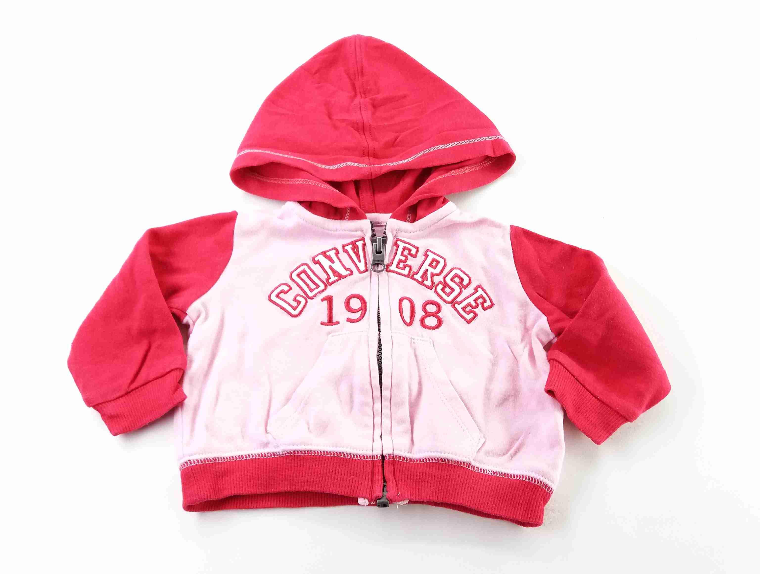 b6958bbd77 mikina růžová s nápisem CONVERSE vel 62