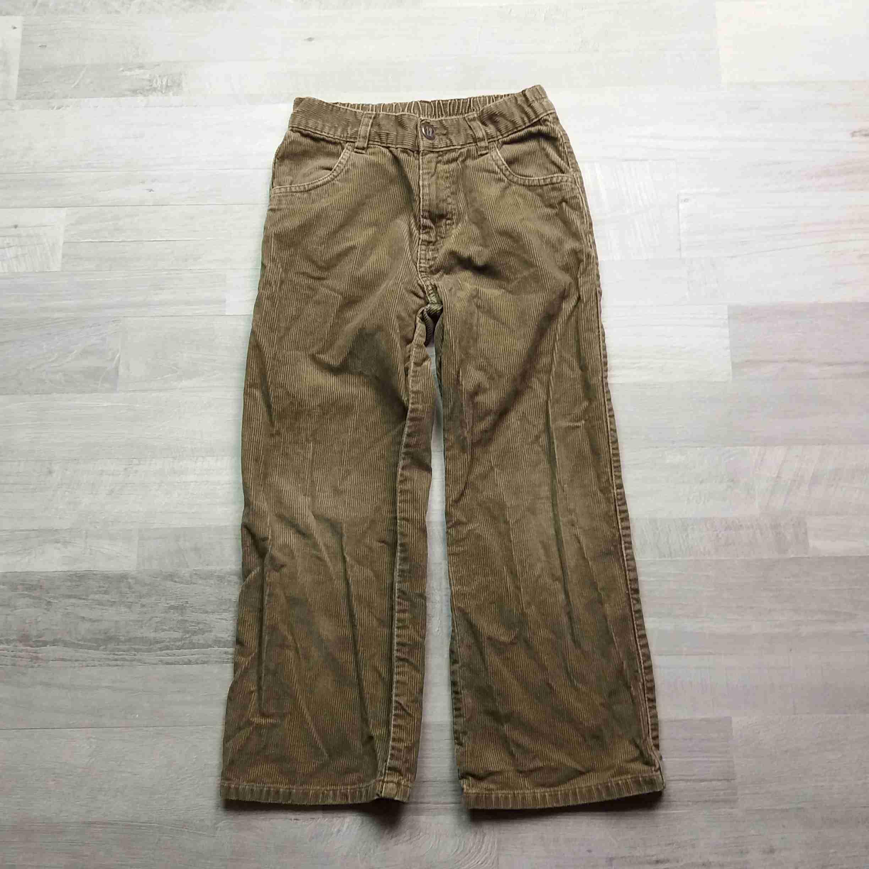 kalhoty béžové manžestrové NEXT vel 122  5baf7516ca