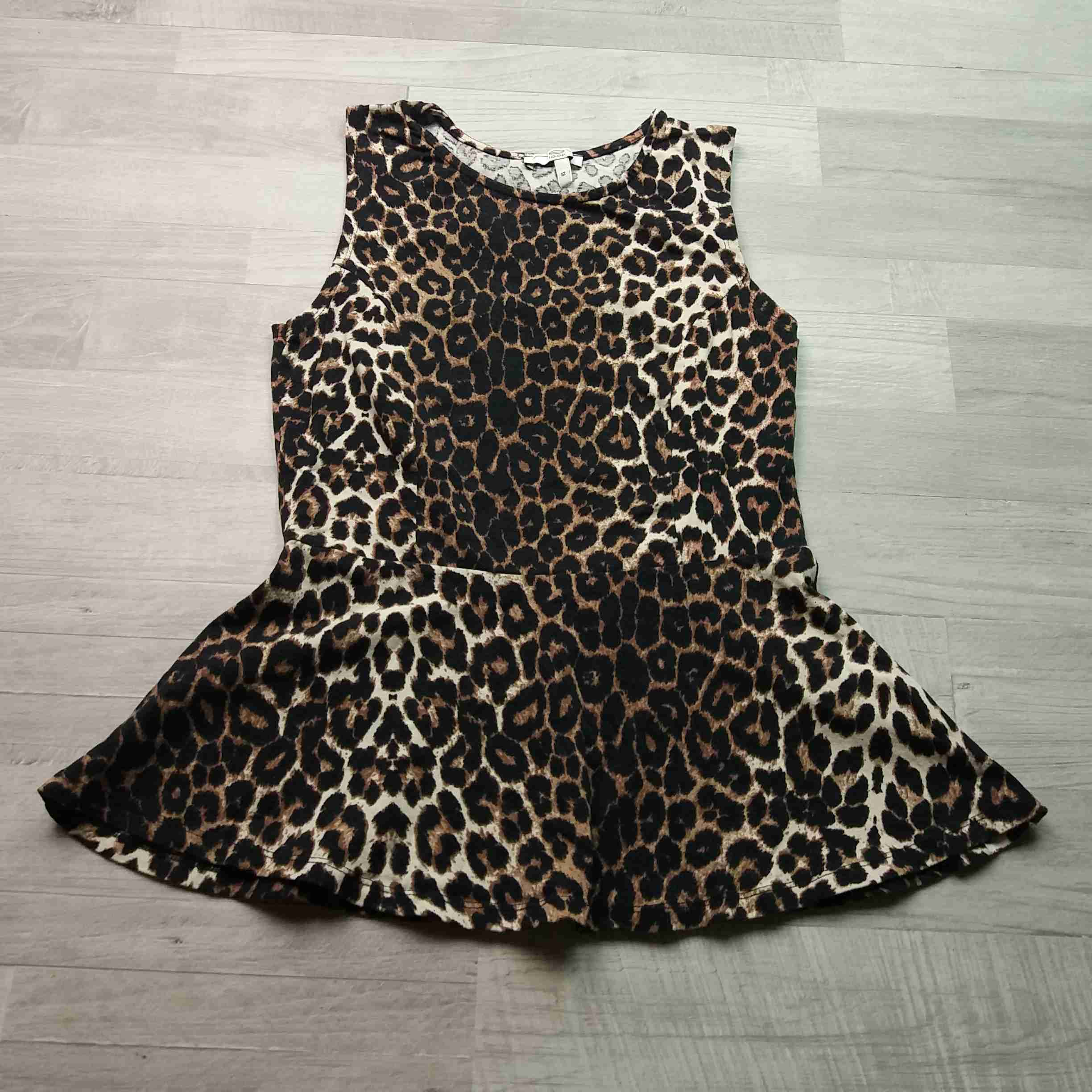 tunika s leopardím vzorem NEW LOOK vel M