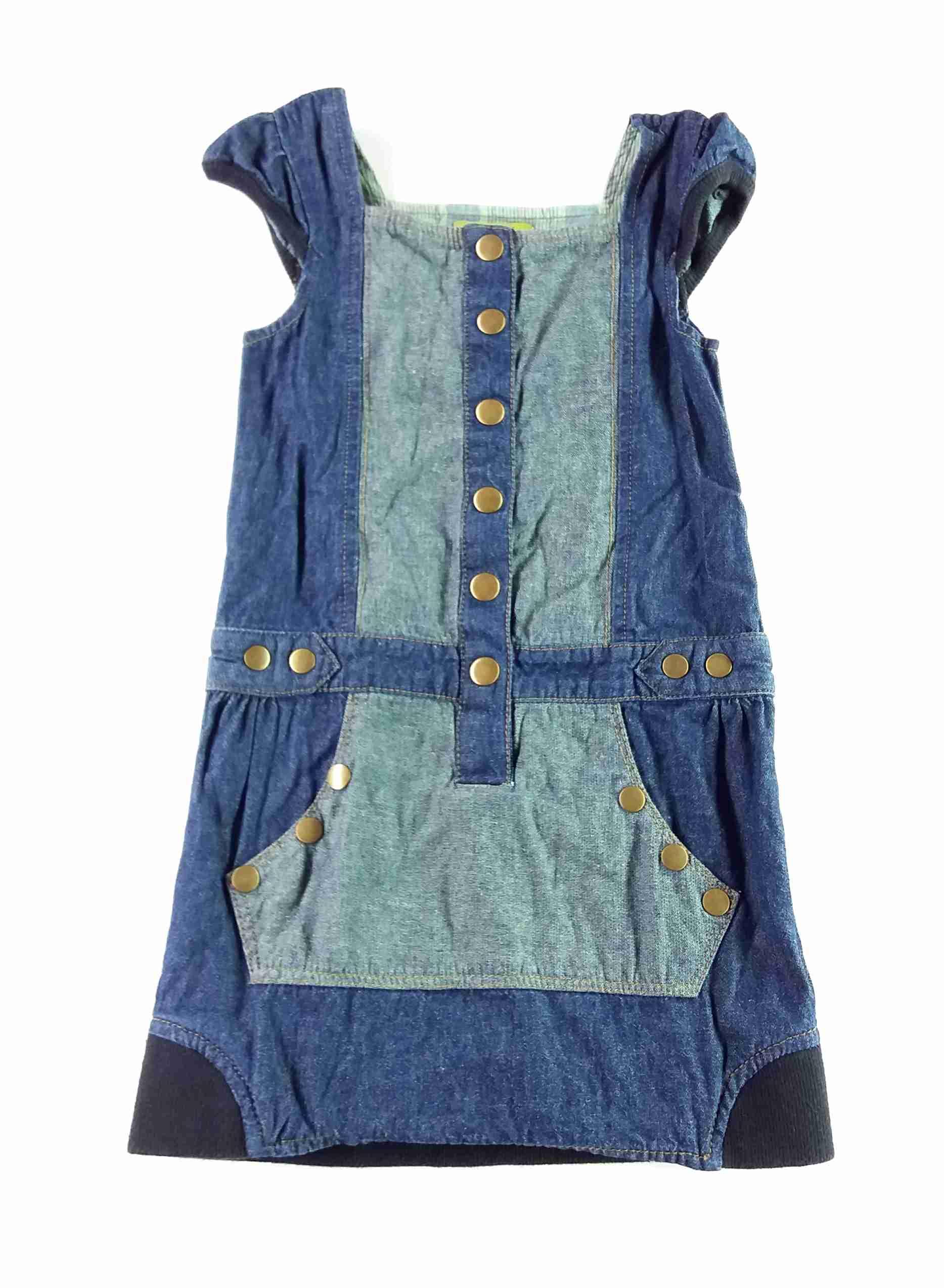 4d621c241881 šaty riflové modré se cvoky vel 104