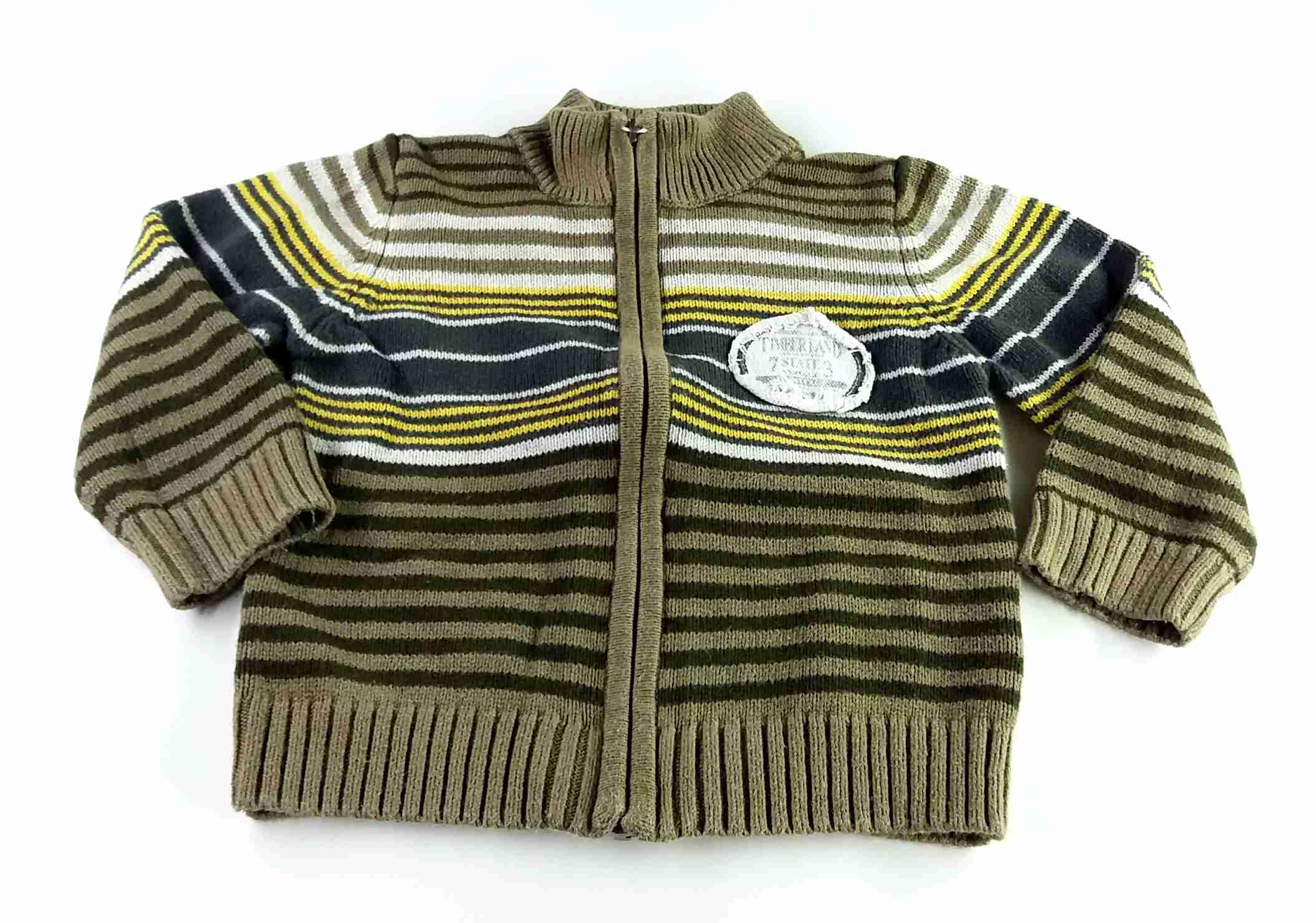 svetr khaki s pruhy TIMBERLAND vel 92 88b15fa96e